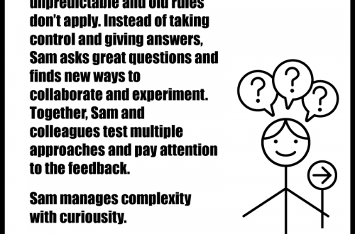 Sam knows when leading in complexity...
